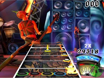 Guitar Hero Guitar Wii
